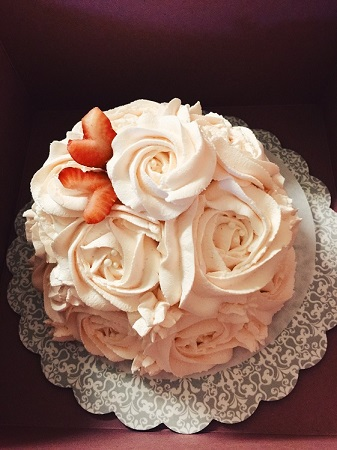 Signature Cake: Beyond Rose (5-7 inch)