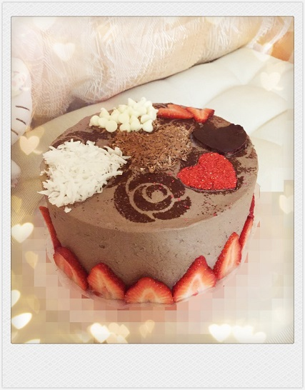 Chocolate Cake: Sweet Heart