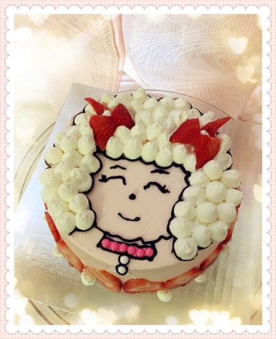 Custom Cake: MeiYangYang (Beautiful Sheep)