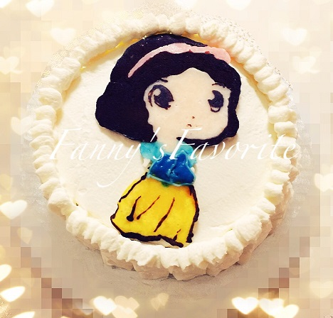 Custom Cake: Snow White