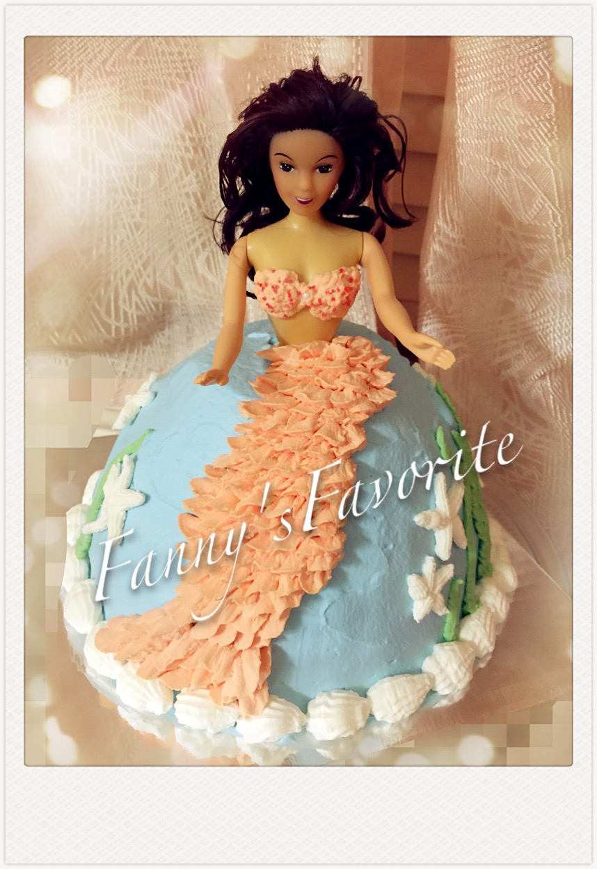 Custom Cake Mermaid