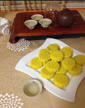 Chinese Specialty: Green Bean Cake