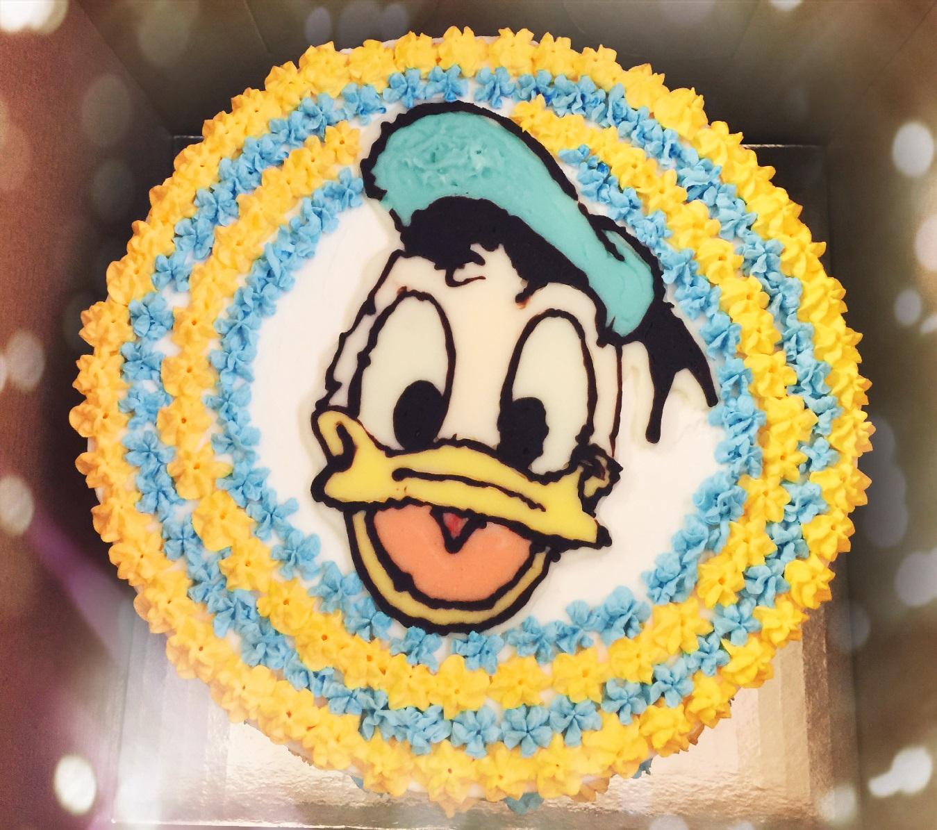 Custom Cake Donald Duck Fannys Favorite
