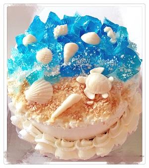 Mousse Cake: Wonderful Ocean