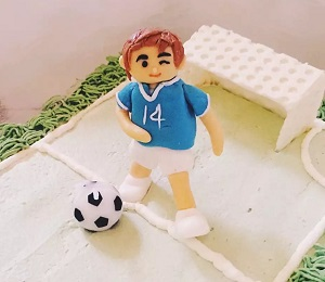 Custom Cake: Soccer Boy