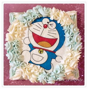 Custom Cake: Doraemon (Photo Cake)