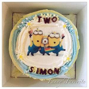 Custom Cake: Minions